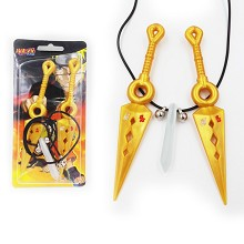 Naruto cos weapons+necklace