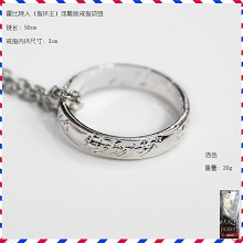The Hobbit the ring necklace