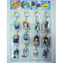 K-ON! key chain set(12pcs a set)