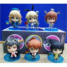 Collection figures set(6pcs a set)