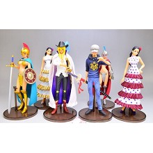 One Piece figures set(6pcs a set)