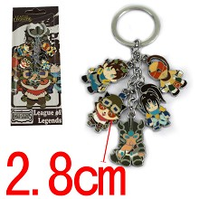 League of Legends key chain