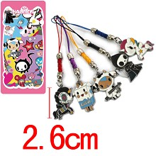 Tokidoki phone straps set