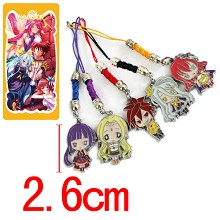 No game no life phone straps set