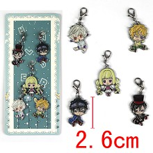 Karneval key chains set