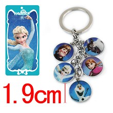 Frozen key chain
