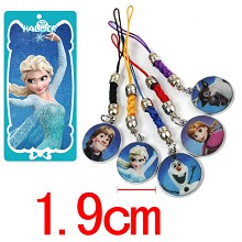 Frozen phone straps set