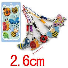 Minuscule  phone straps set