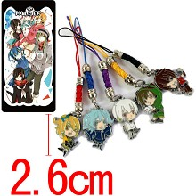 Kagerou Project phone straps set