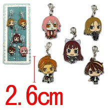 Guilty Crown key chains set