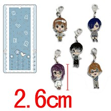 Tokyo ghoul key chains set