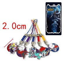 World of Warcraft phone straps set