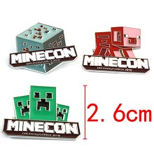 Minecraft pins set(3pcs a set)