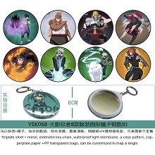 Naruto mirror key chains set(8pcs a set)YSK058