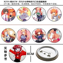 Nozakikun pins brooches set(8pcs a set)X219