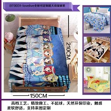 Love Live blanket quilt sheet