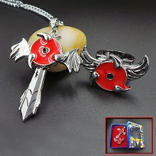 Naruto necklace+ring