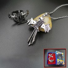 Death Note necklace+ring