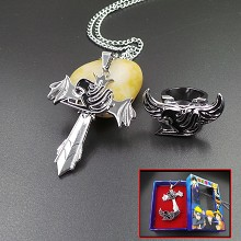 Fairy Tail necklace+ring