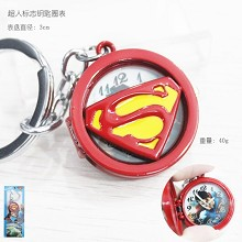 Superman key chain watch