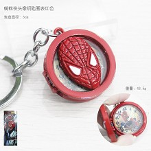 Spider-man key chain watch
