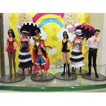 One Piece fiugres set(6pcs a set)