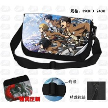 Attack on Titan nylon backpack bag