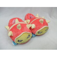 League of Legends plush slippers a pair