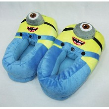 Despicable Me plush slippers a pair