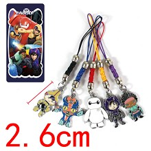 Big Hero 6 phone straps set