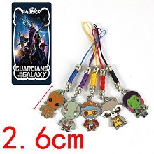 Guardians of the Galaxy phone straps set