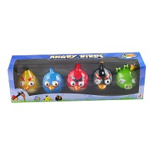 Angry birds figures set(5pcs a set)