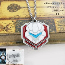 Halo necklace
