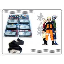 Naruto cos headbands(6pcs a set)