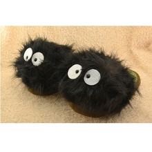 TOTORO plush slippers a pair