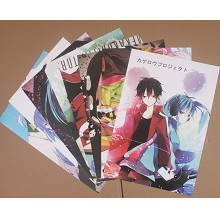 Kagerou Project posters(8pcs a set)