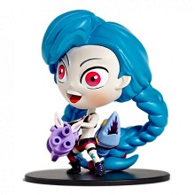 League of Legends Jinxed figure
