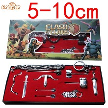 Clash of Clans Cosplay weapones set(10pcs a set)