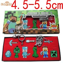 Minecraft Cosplay weapones set(9pcs a set)