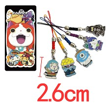 Youkai Watch phone straps set