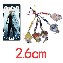 Final Fantasy phone straps set
