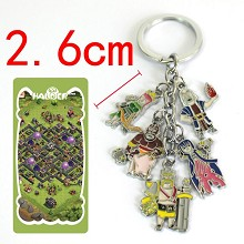 Clash of Clans key chain