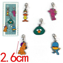 Pocoyo key chains set