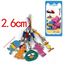 Pocoyo phone straps set