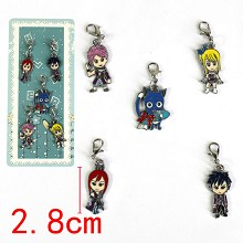 Fairy Tail key chains set