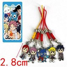 Fairy Tail phone straps set