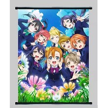 Love Live wall scroll