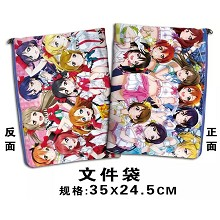 Love Live documents bag