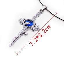 The Sword of Damocles necklace
