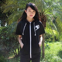 Fairy Tail short sleeve thin hoodie